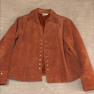 Jackets & Blazers - 100% authentic leather jacket, women's size medium